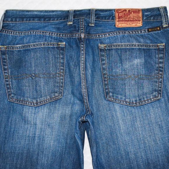 632cb12b Lucky Brand Jeans | Lucky Vintage Straight Mens Denim 36 X 31 | Poshmark